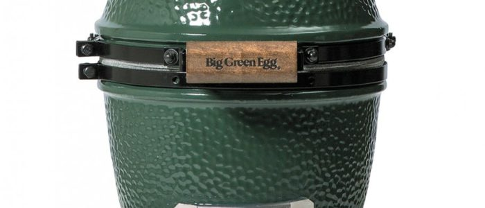 Horno ceramico big green egg tamaño mini